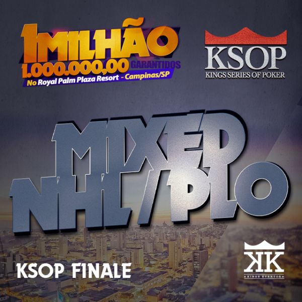 KSOP FINALE - Evento #13 Mixed NLH/PLO