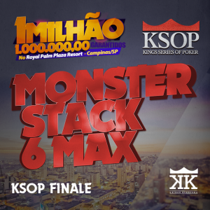 KSOP FINALE - Evento #18 Monster Stack KO 6max