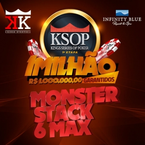 EVENTO #22: NLH - MONSTER STACK KO - 6MAX