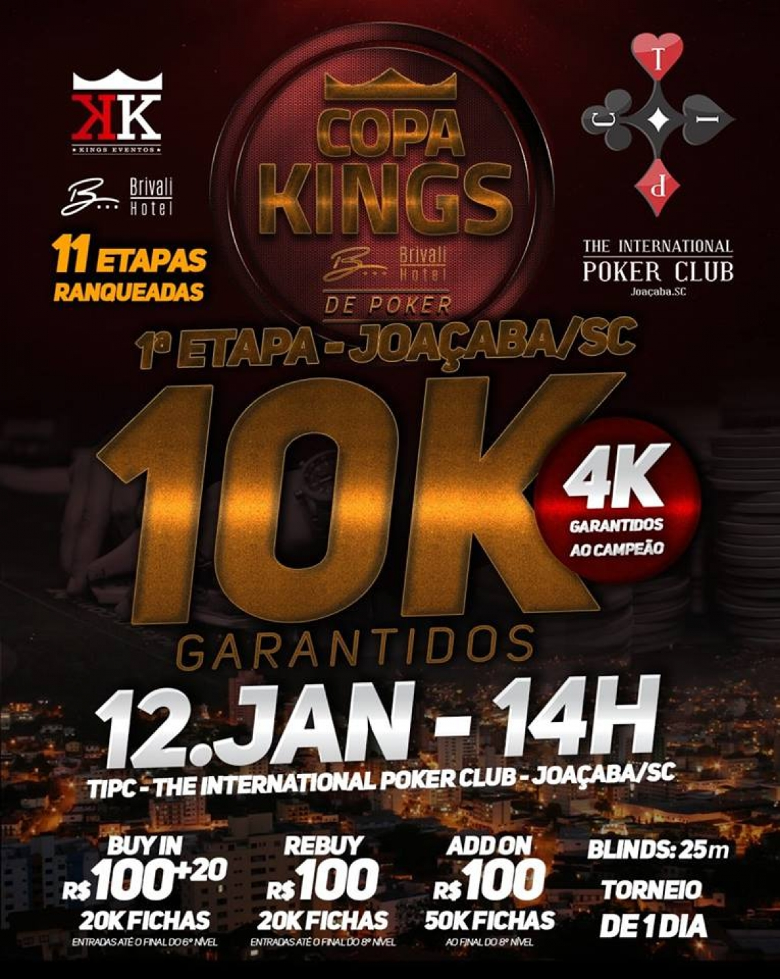 COPA KINGS BRIVALI 2019